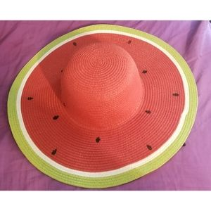 Watermelon Floppy Sun Hat